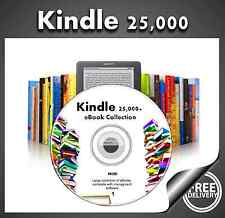 Kindle 25000+ eBook Collection for Kindle Kobo eReader iPad  Mobi on DVD freeP&P