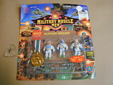 #2 1993 Military Muscle Men - Blizzard Brigade Action Figure - MOC