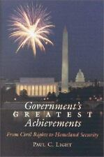 Government's Greatest Achievements: From Civil Rights to Homeland Security