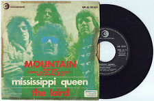 "7"" MOUNTAIN Mississippi Queen (Ricordi 70 ITALY) hard psych unique cover RARE VG"