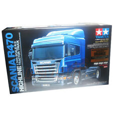 Tamiya 1:14 SCANIA R470 Highline EP 3Spd Tractor Truck Orange Edition Kit #56338