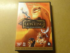 2-DISC DVD / THE LION KING 1 (SPECIAL EDITION) (WALT DISNEY CLASSICS)