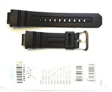 CASIO ORIGINAL WATCH BAND:10273059  AW-590 AWG-100 AWG-M100 Black Resin BAND