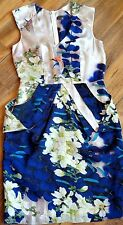 SHEIKE - Satin Print Dress - Ladies Size - 8 - NWOT - Buy 5 FREE POST ! Cocktail