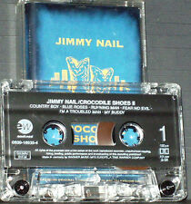 Jimmy Nail Crocodile Shoes II CASSETTE ALBUM EastWest  Rock Pop tv soundtrack