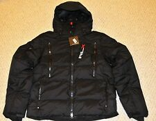 Polo Ralph Lauren RLX Men's, L, Black, Quilted Down Jacket Coat, Winter, Snow