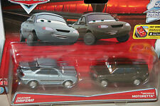 "DISNEY PIXAR CARS ""2-PACK HEATHER DRIFENG & MICHELLE MOTORETTA"" NEW IN PACKAGE"