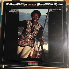 Esther Phillips with Joe Beck - for all we know - kudo 28 lp RVG