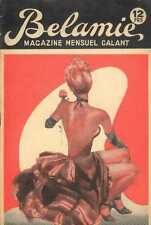 BELAMIE 1960s sexy Revue Magazine curiosa Pinup CLEO MOORE cheesecake art cover
