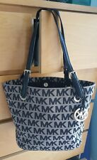 MICHAEL KORS Signature Jacquard Medium Tote (100% AUTHENTIC)