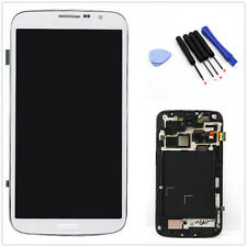 Front LCD Touch Digitizer Screen Frame For Samsung Galaxy Mega 6.3 i9200 i9205+T