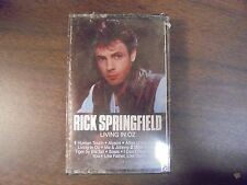 "NEW SEALED ""Rick Springfield"" Living In Oz   Cassette Tape   (G)"