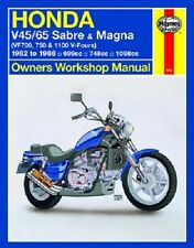 HAYNES SERVICE REPAIR MANUAL M820 HONDA V45 700 750 MAGNA 1982 83 84 85 86 87 88