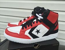 Converse Weapon 86 Red Black White Sz 8.5 Jordan I Icy Sole