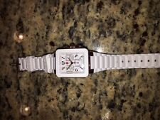 Michele Tahitian Jelly Bean Park Women's Gold White Silicon Watch MWW06L000001