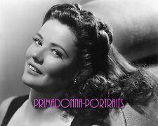 GENE TIERNEY 8X10 Lab Photo 1940s Sexy Youthful Glamour Star, Actress Portrait