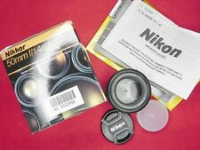 Nikon AF 50mm f1.4D  #6152956 .......... MINT w/Box,I.B.,W.C.,Caps