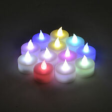 Instapark LCL-C12 Flameless LED Tea Light Tealight Candle Candles Dozen Pack