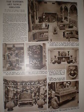 Article Chinese and Japanese art exhibition Victoria and Albert Museum 1952