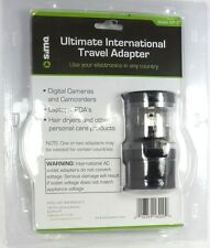 SIP-3 SIMA International Compact Travel Power Plug Adapter Set for Europe,China