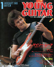 Young Guitar Magazine January 1983 Japan Bow Wow Gary Moore Loverboy Queen