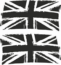 LAND ROVER DEFENDER UNION JACK UK FLAG 480mmX930mm DECAL Sticker SET