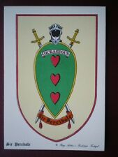 POSTCARD SIR PERCIVALE - KING ARTHURS KNIGHT BADGE