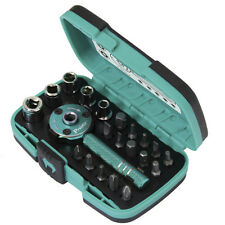 Eclipse SD-2319M 22 PCS Palm Ratchet Wrench Bit & Socket Set