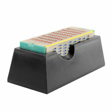 Diamond Sharpening Stone Whetstone Cutter Sharpener 4 Grit Sides Tool