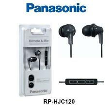Panasonic iPhone RP-HJC120 Earphones with Remote & Mic