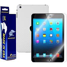 ArmorSuit MilitaryShield Apple iPad Mini Screen Protector + White Carbon Fiber