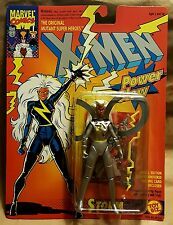 "Marvel X-Men Power Glow Storm Mutant Super Heroes Action Figure 5"" Toy Biz 1993"