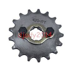 17T Tooth 20MM Dirt Pit Bike Sprocket Set For YX LF Engine 150 200CC  #420 Chain