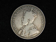 1912 Canada 50 Cents - Silver