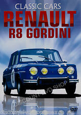 CLASSIC CARS RENAULT R8 GORDINI. A NEW 85 MINUTE DVD