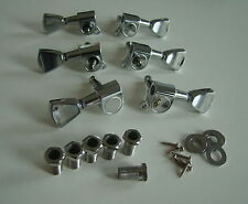 Grover Style Tulip Tuners / Machine Heads / Tuning Pegs / 3L 3R Guitar Parts