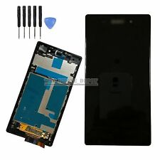 LCD Display Touch Screen Digitizer  & Frame For SONY Xperia Z1 LT39H L39H Black