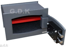 GDK BUILT IN WALL SAFE, HIGH SECURITY, HOME, OFFICE VALUABLES SAFE,10MM STEEL,,-