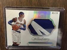 Caermelo Anthony 2014-15 Flawless 2 Color Letter Patch Jersey Card /20