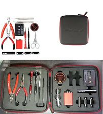 NEW Coil Master DIY V2 KIT SET Coil Jig ohm Meter Ceramic Tweezer 2016