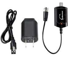 High Gain Low Noise HDTV Indoor Antenna Amplifier Signal Booster Gain 20dB