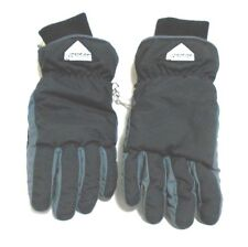 Fownes Black Genuine Suede Leather Fleece Lined Winter Gloves