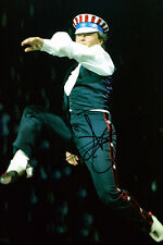 Michael Flatley HAND SIGNED Autograph 12x8 Photo AFTAL COA Celtic Tiger Show