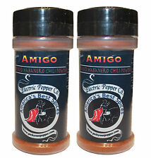 Smoked Habanero Chili Powder Chile Pepper Chipotle Spice Amigo Dried 1.5 oz Hot