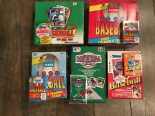 Huge Vintage Card Lot of Unopened 1990 Baseball Packs from Boxes Rookies & Stars
