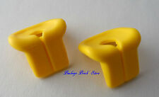 NEW Lego Minifig Yellow LIFE JACKET PRESERVER Sailor Ship Boat Swimmers - Lot/2