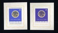 TOP ALBANIEN 1964, MiNr. Block 24 + 25, **, postfrisch, LUXUS, SPACE, E10