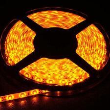 Car Boat Decor Waterproof Yellow 16ft 5M 3528 SMD 300 LEDs Strip Light Flexible
