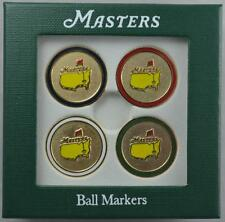 2012 Masters (4) Pack GOLF BALL MARK Marker from AUGUSTA NATIONAL