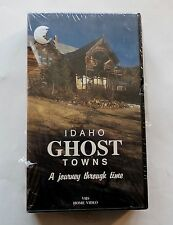 Idaho Ghost Towns, A Journey Through Time, NEW Vintage VHS Video w/ Map, Mining